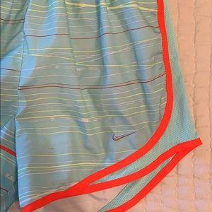 Women's striped NIKE shorts